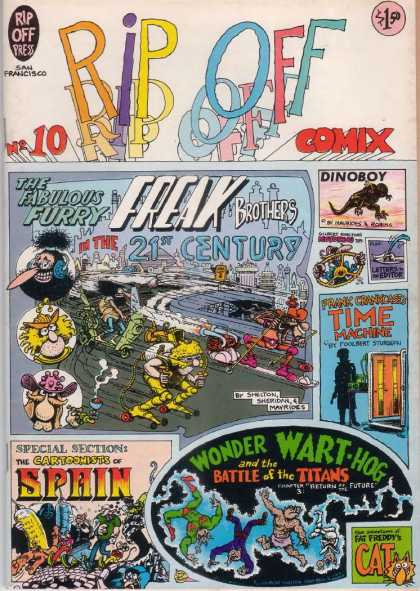 Rip Off Comix 10
