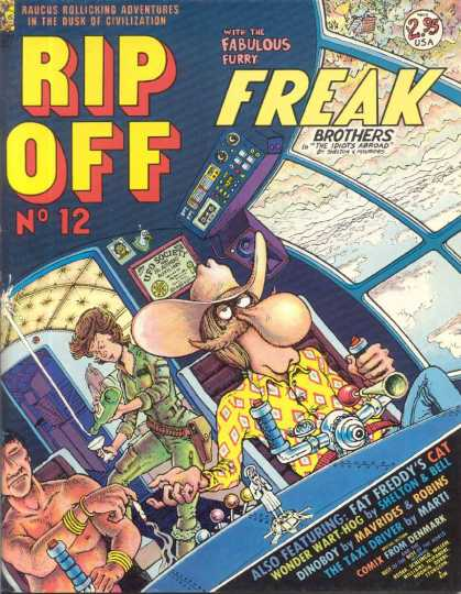 Rip Off Comix 12
