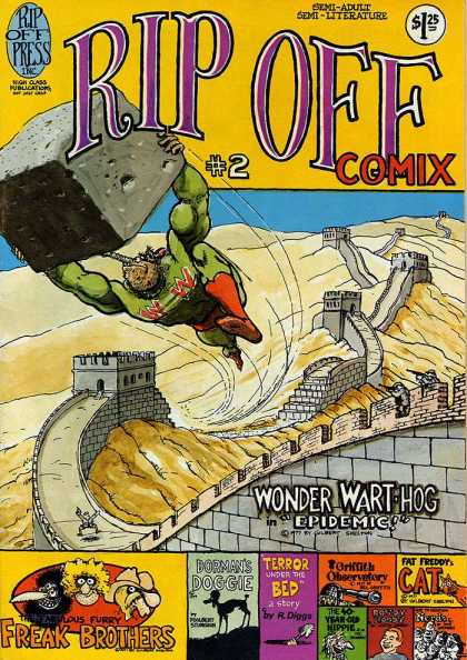 Rip Off Comix 2 - Block - Great Wall - Wart-hog - Flyung - Rifles