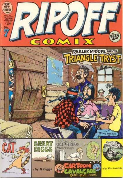 Rip Off Comix 7 - Hillbillies - Cocaine - Meth Pipe - Liquor - Cops Breaking In