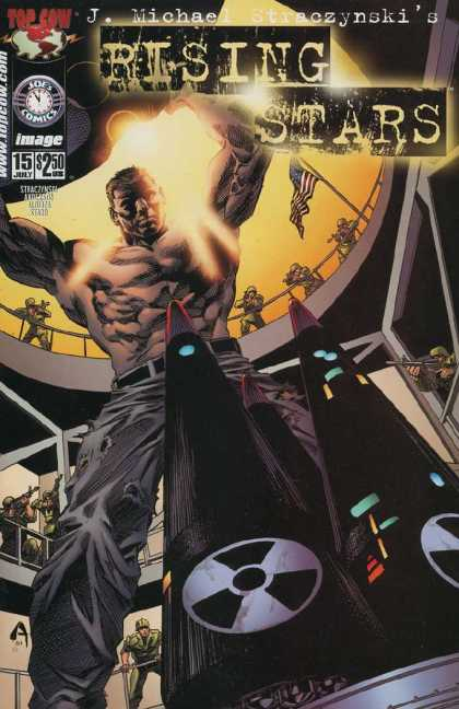 Rising Stars 15 - Muscular Man - Nuclear Weapons - Arena - Army - Top Cow