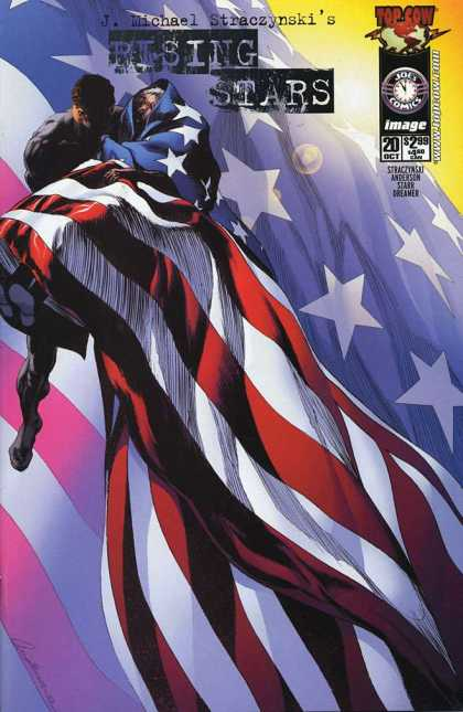 Rising Stars 20 - Jwichael Straczynskis - American Flag - Image - Joes - Tope Cow