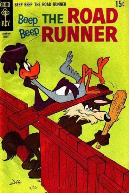 Road Runner 13 - Fence - Club - Loose Plank - Coyote - Searching