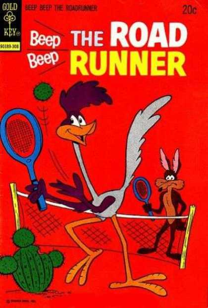 Road Runner 37 - Cactus - Badminton - Coyote - Bird - Ball