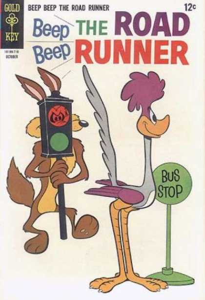 Road Runner 5 - Bus Stop - Re And Green Light - Coyote - Beep Beep - October