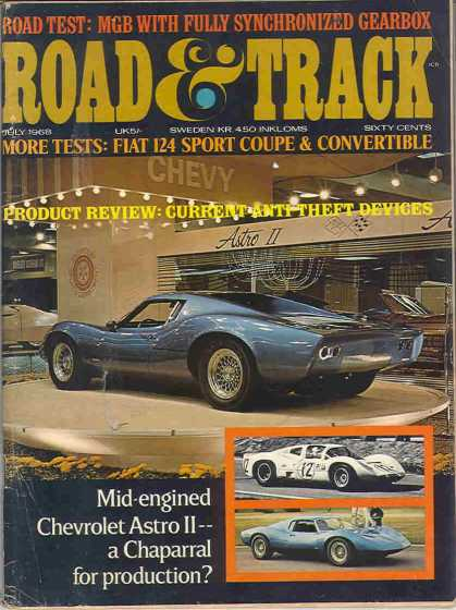 Road & Track - July 1968
