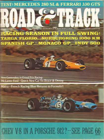 Road & Track - August 1968