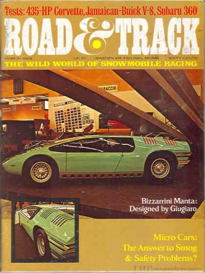 Road & Track - March 1969