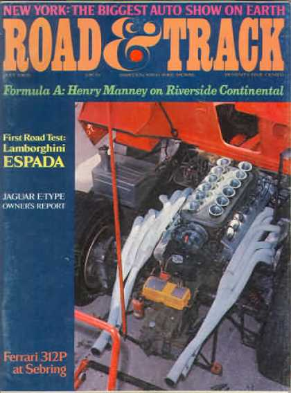 Road & Track - July 1969