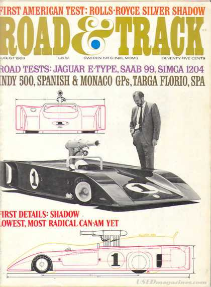 Road & Track - August 1969