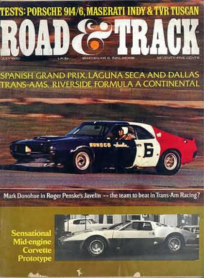 Road & Track - July 1970