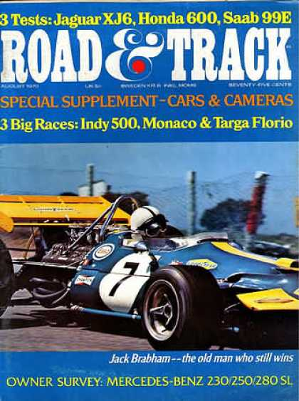 Road & Track - August 1970