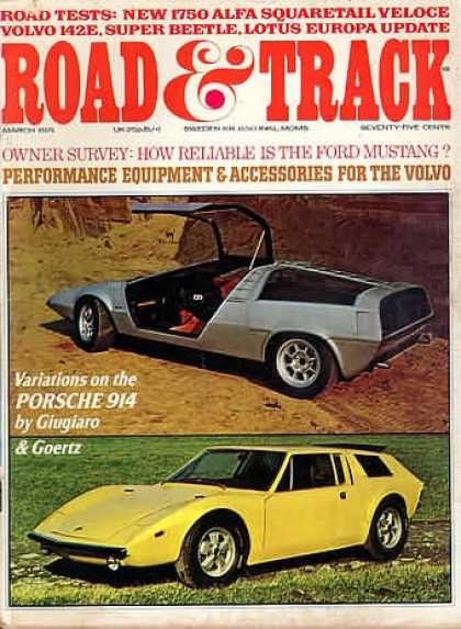 Road & Track - March 1971