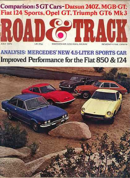 Road & Track - July 1971