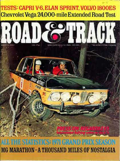 Road & Track - March 1972