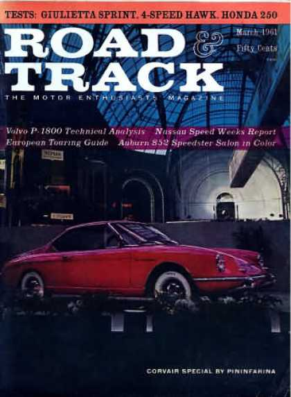 Road & Track - March 1961