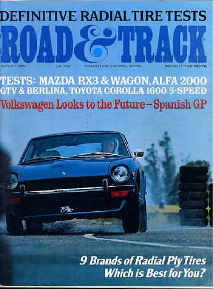 Road & Track - August 1972
