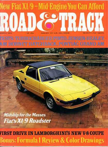 Road & Track - March 1973