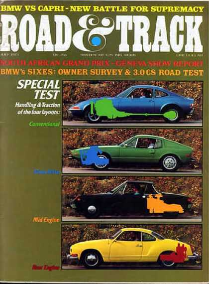 Road & Track - July 1973