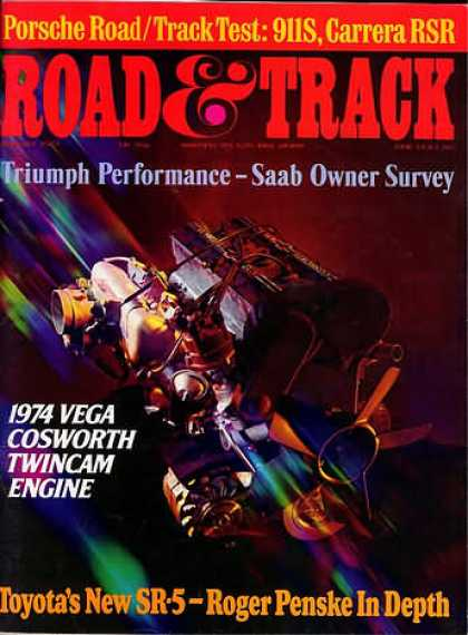 Road & Track - August 1973