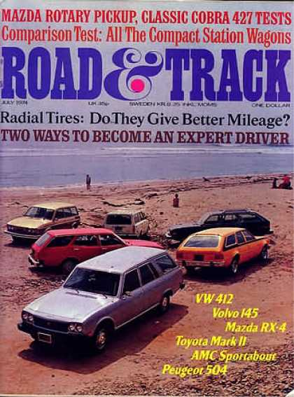 Road & Track - July 1974