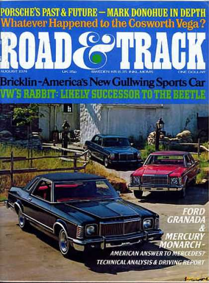 Road & Track - August 1974
