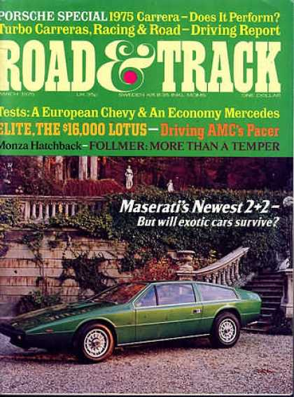 Road & Track - March 1975