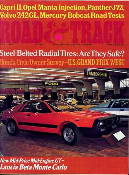 Road & Track - July 1975
