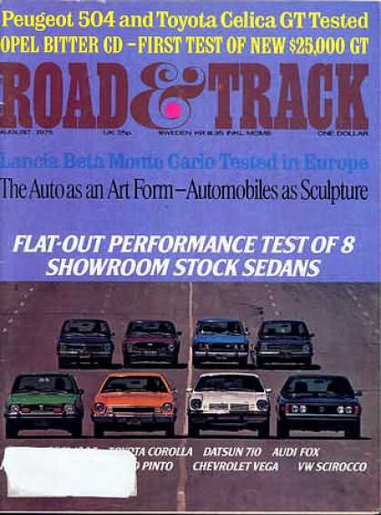 Road & Track - August 1975