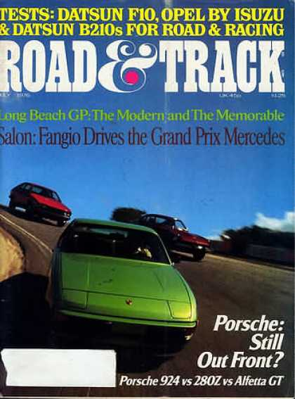 Road & Track - July 1976