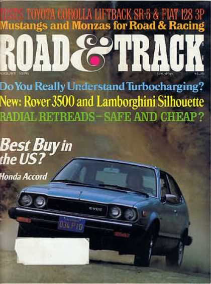 Road & Track - August 1976