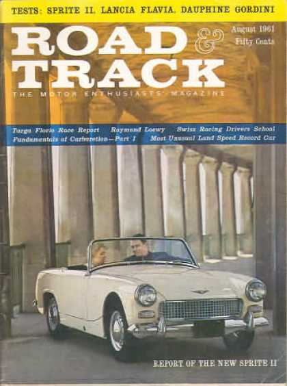 Road & Track - August 1961