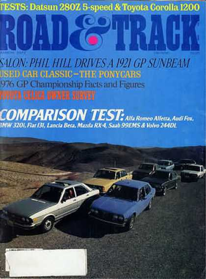Road & Track - March 1977
