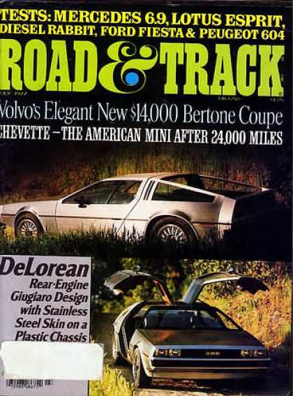 Road & Track - July 1977