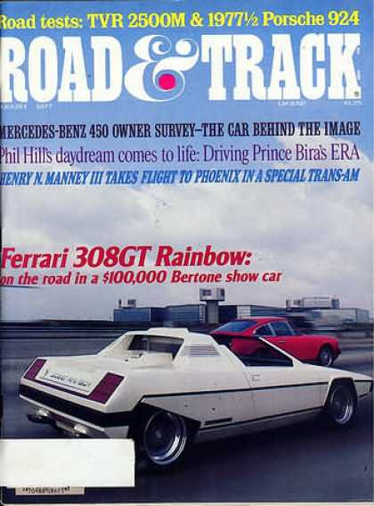 Road & Track - August 1977