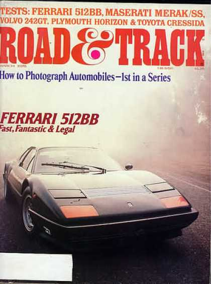 Road & Track - March 1978
