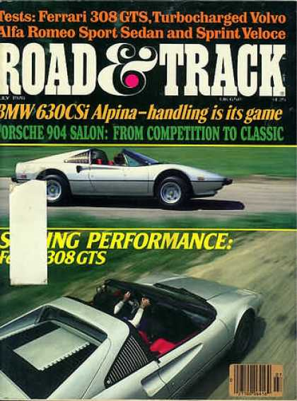 Road & Track - July 1978