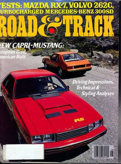 Road & Track - August 1978