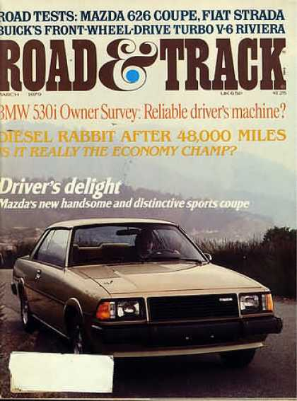 Road & Track - March 1979
