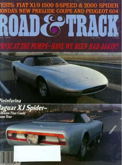 Road & Track - July 1979
