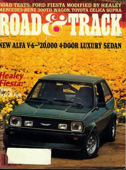 Road & Track - August 1979