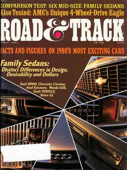 Road & Track - March 1980