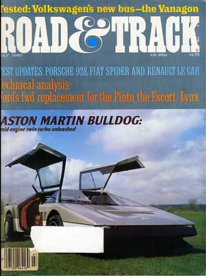 Road & Track - July 1980