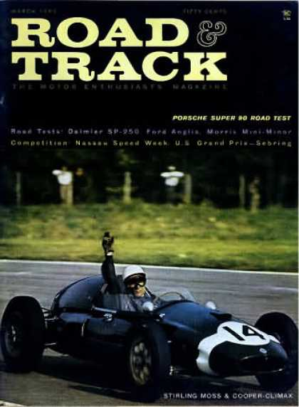 Road & Track - March 1960