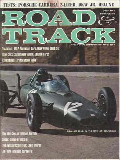 Road & Track - July 1962