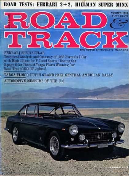 Road & Track - August 1962