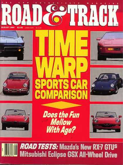 Road & Track - August 1989
