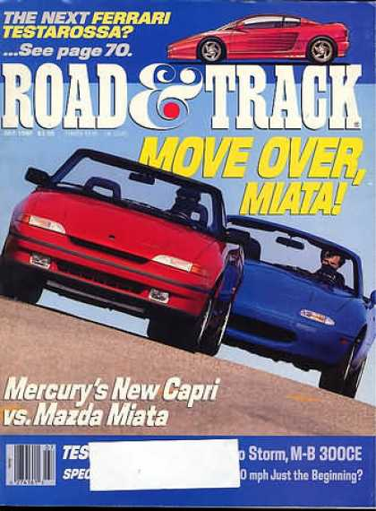 Road & Track - July 1990