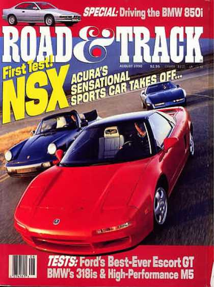 Road & Track - August 1990