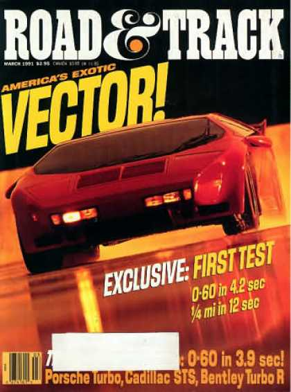 Road & Track - March 1991